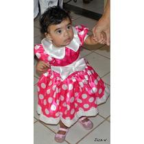 Fantasia Da Minie Infantil - Aniversário - Carnaval