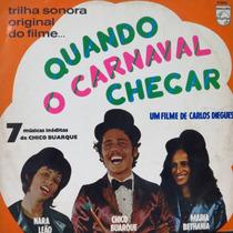 Lp - Quando O Carnaval Chegar - Nara Leão - Chi Vinil Raro