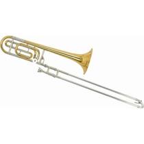 Frete Grátis - Ny Ny-tb200vr Trombone Vara C/ Rotor Sib/fa