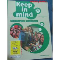 Livro Keep In Mind 7º Ano Com Cd Jj