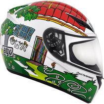Capacete Para Motociclista Agv K3 Rossi House - Tamanho 56