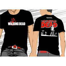 Camisa Camiseta Twd, The Walking Dead #frete Grátis#