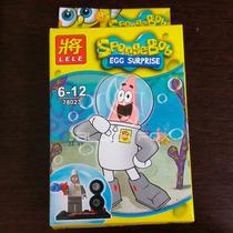 Bob Esponja Spongebob Lele Compatível Com Lego Modelo 6