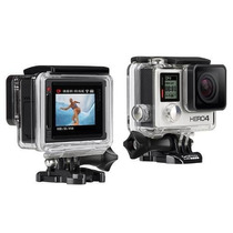 Camera Gopro Go Pro Hero 4 Silver Edition Tela Lcd Filmadora