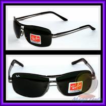 Óculos 8013 Grafite Lentes Escuras