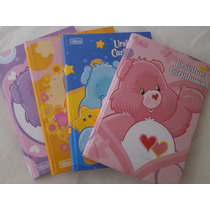 Caderno Brochura Ursinhos Carinhosos, Jolie, Moranguinho C/5