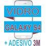 Vidro Tela Visor Samsung Galaxy S4 I9400 Branco +adesivo 3m