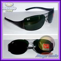 Óculos 3320 Preto Lentes Escuras