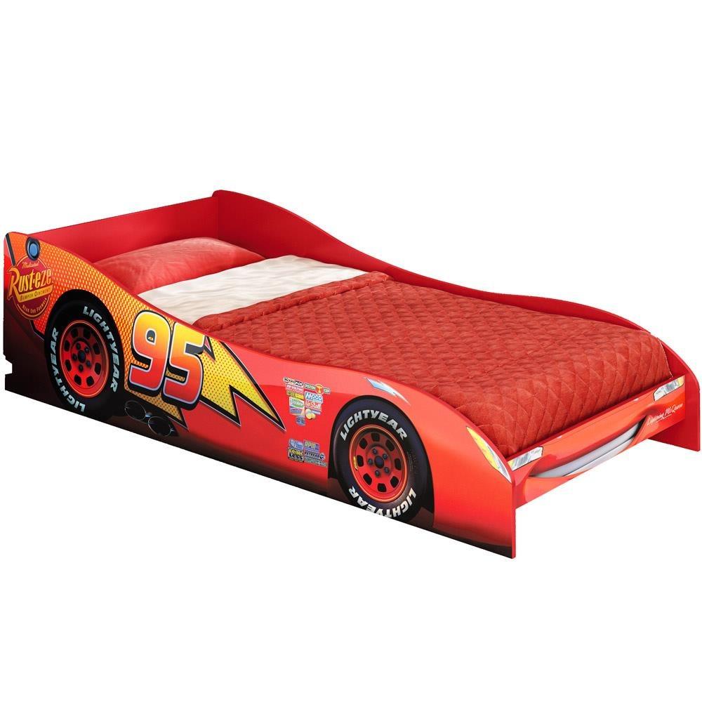 Mini cama carros mcqueen disney infantil menino pura magia - Camas infantiles de cars ...