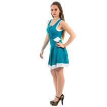 Vestido Viscolycra Fashion Juju Salimeni - Liquidação -