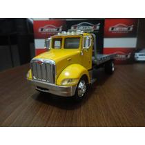 Miniatura Caminhão Peterbilt Guincho Plataforma 1:43 New Ray