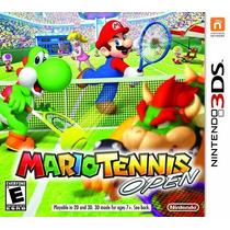 Mario Tennis Open - 3ds Novo