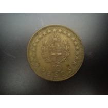 Moeda Do Uruguai De 10 Pesos De 1965 Por R$ 3,00