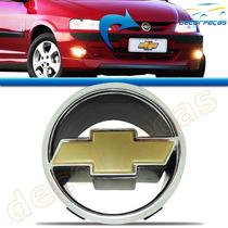 Emblema Gm Dourado Grade Celta 2000 2001 2002 2003 2004 2005