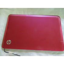 Tampa Da Tela Do Netbook Hp Mini 210-2060nr Rosa Choque