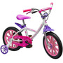Bicicleta Infantil Aro 14 First Pro Girl Aluminum