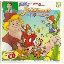 Livro + Cd De Historias Infantis Narradas Por Silvio Santos
