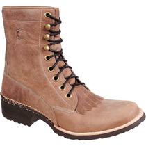 Coturno Bota Texana Country Em Couro Legitimo Capelli Boots