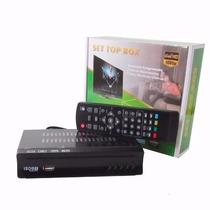 Conversor Tv Digital E Gravador Cabo Hdmi Full Hd Usb