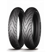 Combo Pneu Moto Michelin Pilot Street 120/70-17 + 160/60-17