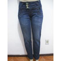 Calça Jeans Tam 40 Elástico Atrás Ótimo Estado