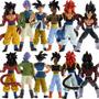 Dragon Ball Z Gt Gogeta Goku Vegeta Super Sayajim 4 Trunks