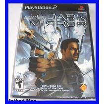 Syphon Filter Dark Mirror Ps2 Playstation Original Lacrado