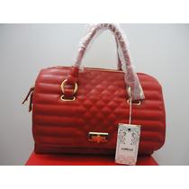 Bolsa Feminina Vermelha Colcci Original