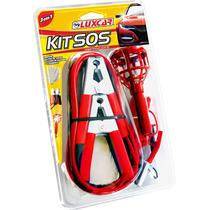 Kit Emergência Sos De Carro - 03 Itens