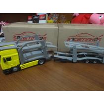 Miniatura Caminhão Cegonheira Man F2000 1:43 New Ray
