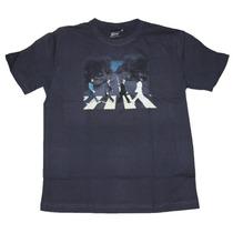 Camiseta The Beatles Abbey Road Stamp