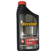 Oleo Lubrificante Mineral Havoline Sj 20w50