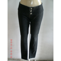 Linda Calça Jeans Com Elastano - Bivik Tam: 40