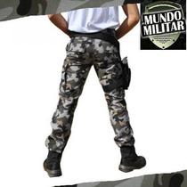 Calça Masculina Ripstop Camuflado Urbano 48 Ao 54 Original