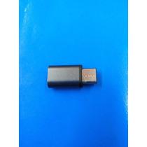 Usb3.1 Type C Macho Para Micro Usb Femea Conversor Adaptador