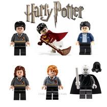 Coleção Minifigures Harry Potter 6 Bonecos Lego Compatível