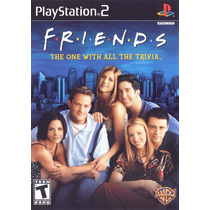 Jogo Ps2 Friends The One With All The Trivia Original