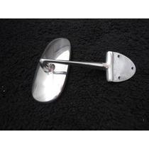 Espelho Retrovisor Interno Do Fusca Ate 74 3 Furos Aluminio