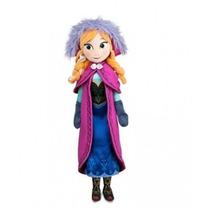 Nova Boneca De Pelúcia 40cm Da Disney Frozen Anna