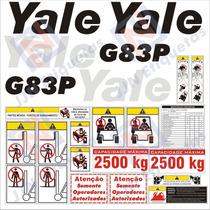 Kit De Adesivos Para Empilhadeiras Yale