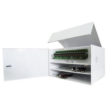 Rack Organizador De Cabos P/ 2 Dvrs De 16 Canais Manager Box