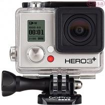 Câmera Digital Gopro Hero3+ Silver Edition Prata/preto