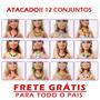 Bijuteria Lote 12 Colares / Brincos P/ Barbie -frete Grátis