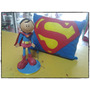 Boneco Eva Superman Gratis 1almofada Em Feltro Decorativa