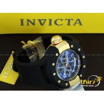 Invicta S1 Rally Original 17392 Banh Ouro 18k Grande 52 Mm