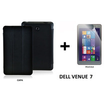 Capa + Pelicula P/ Tablet Dell Venue 7 - 3740 / 3730
