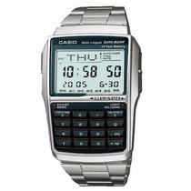 Relógio Casio Dbc-32 D Databank 25 Tel Calculadora 5 Alarmes
