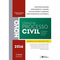 Código De Processo Civil 2016 - Theotonio Negrão Epub / Pdf