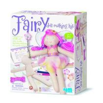 Brinquedo Educativo - Boneca De Pano Para Montar - Fada