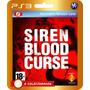Siren Blood Curse (código Ps3) - Envio Rápido!